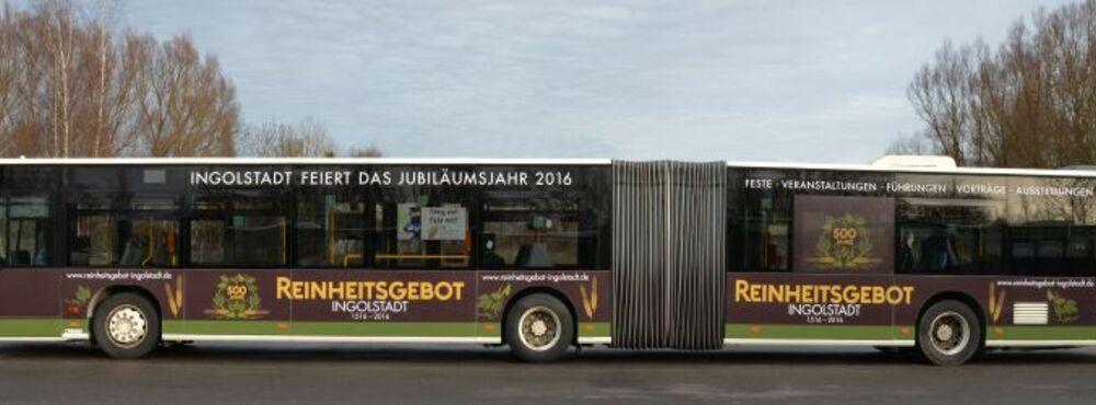 INVG, Ingolstadt, Reinheitsgebot, Jubiläum, Werbung, © INVG