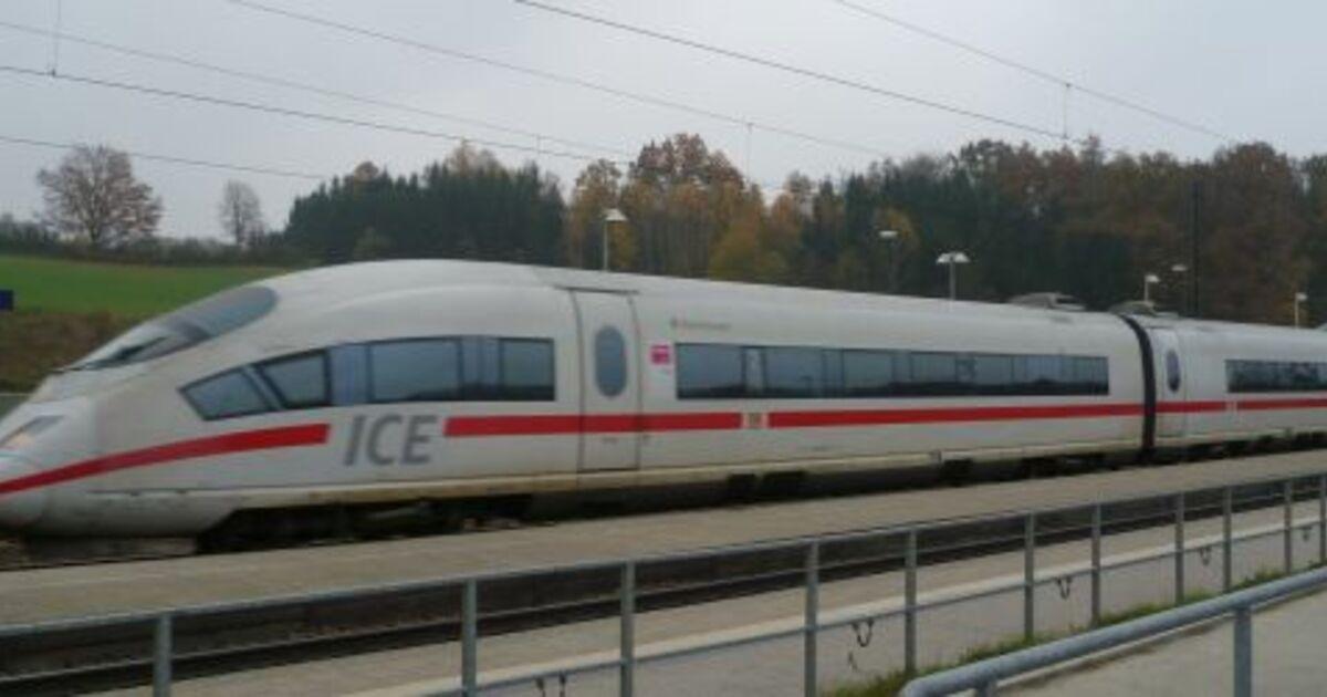 Ingolstadt Künftig 51 Ice Verbindungen Radio In Das