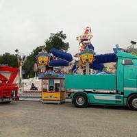 Barthelmarkt 2019 Aufbau 10