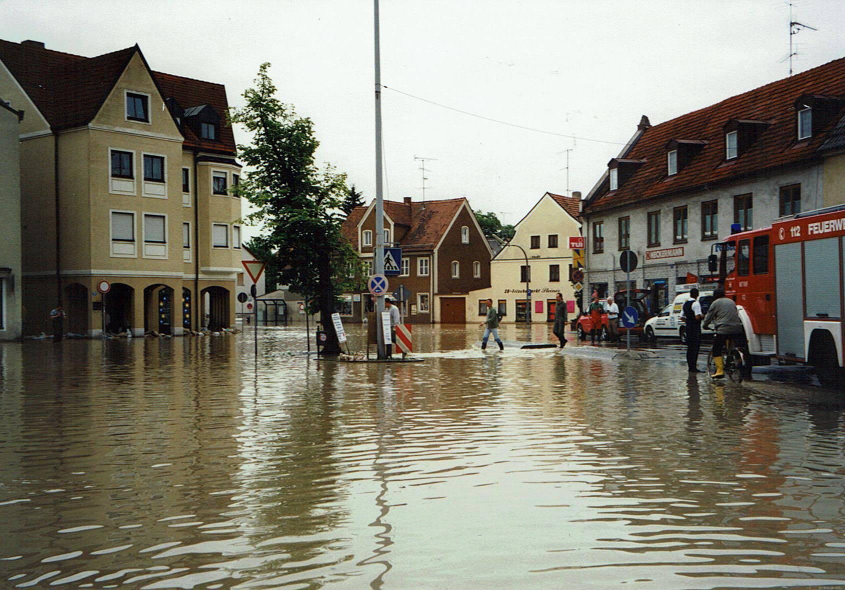 Pfingsthochwasser 1999